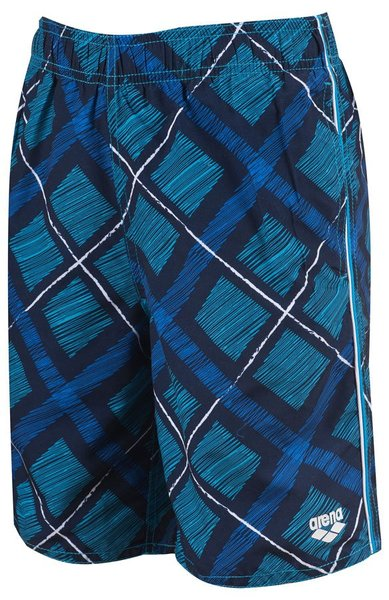 ARENA PRINTED CHECK JR LONG BERMUDA (1B170)