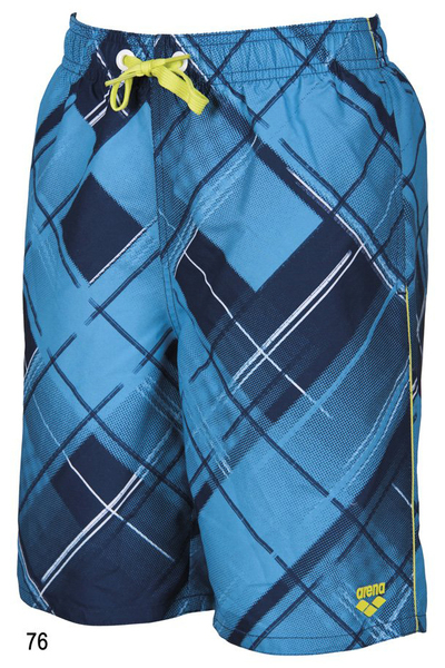 Шорты пляжные PRINTED CHECK JR LONG BERMUDA (1B362)