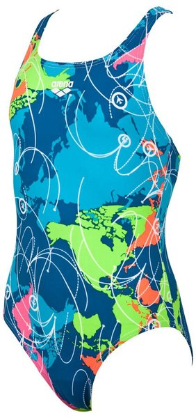 ARENA G ROUTES SWIM PRO BACK JR ONE PIECE (1A764)