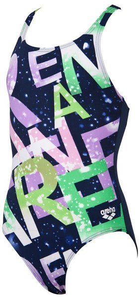 ARENA G SATELLITES JR SWIM PRO BACK ONE PIECE (1A840)