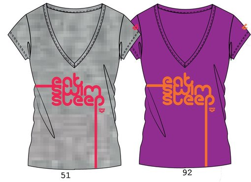 ARENA Футболка Slogan woman t-shirt (38579)