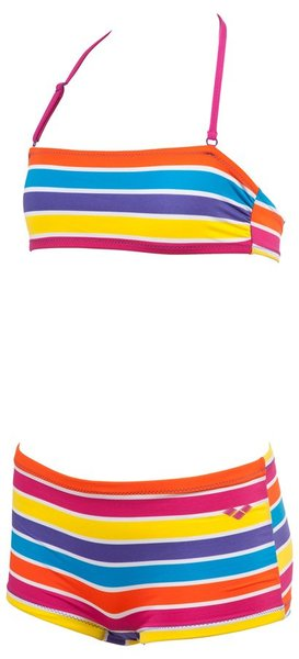 ARENA STRIPES JR BANDEAU (1B079)