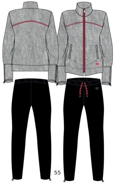 ARENA Спортивный костюм F/Z tracksuit whith zip (69635)