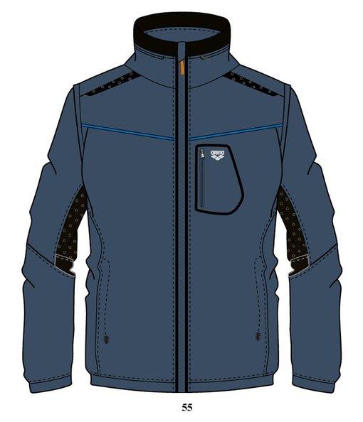 ARENA Куртка Training+ 2 in 1 hooded full zip jacket (68392)