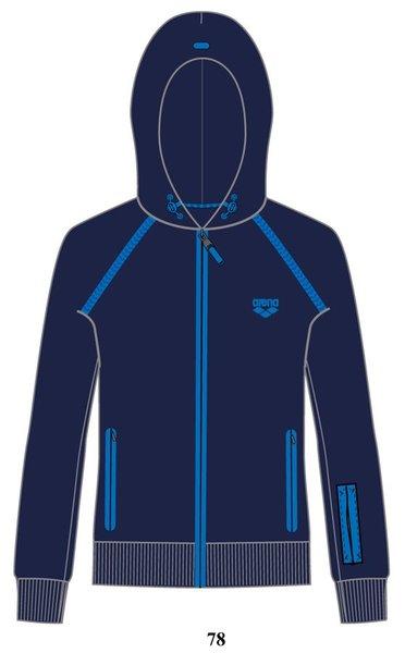 ARENA Кофта Training+ hooded full zip jacket (68385)