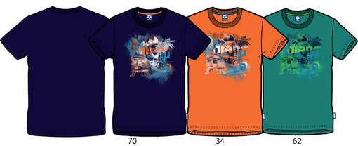 ARENA Футболка Tropical T-Shirt (38592)