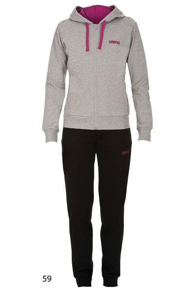 ARENA W ESSENCE HOODED F/Z TRACKSUIT (1D375)