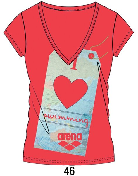 ARENA Футболка Separates T-Shirt I Love (38628)
