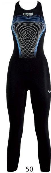 Гидрокостюмы Arena Костюм для плавания Woman Powerskin R-evolution Zip Full Body Long Leg Suit (25226)