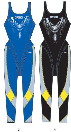 Гидрокостюмы Arena Костюм для плавания  Woman fullleg suit Xtreme (25143)